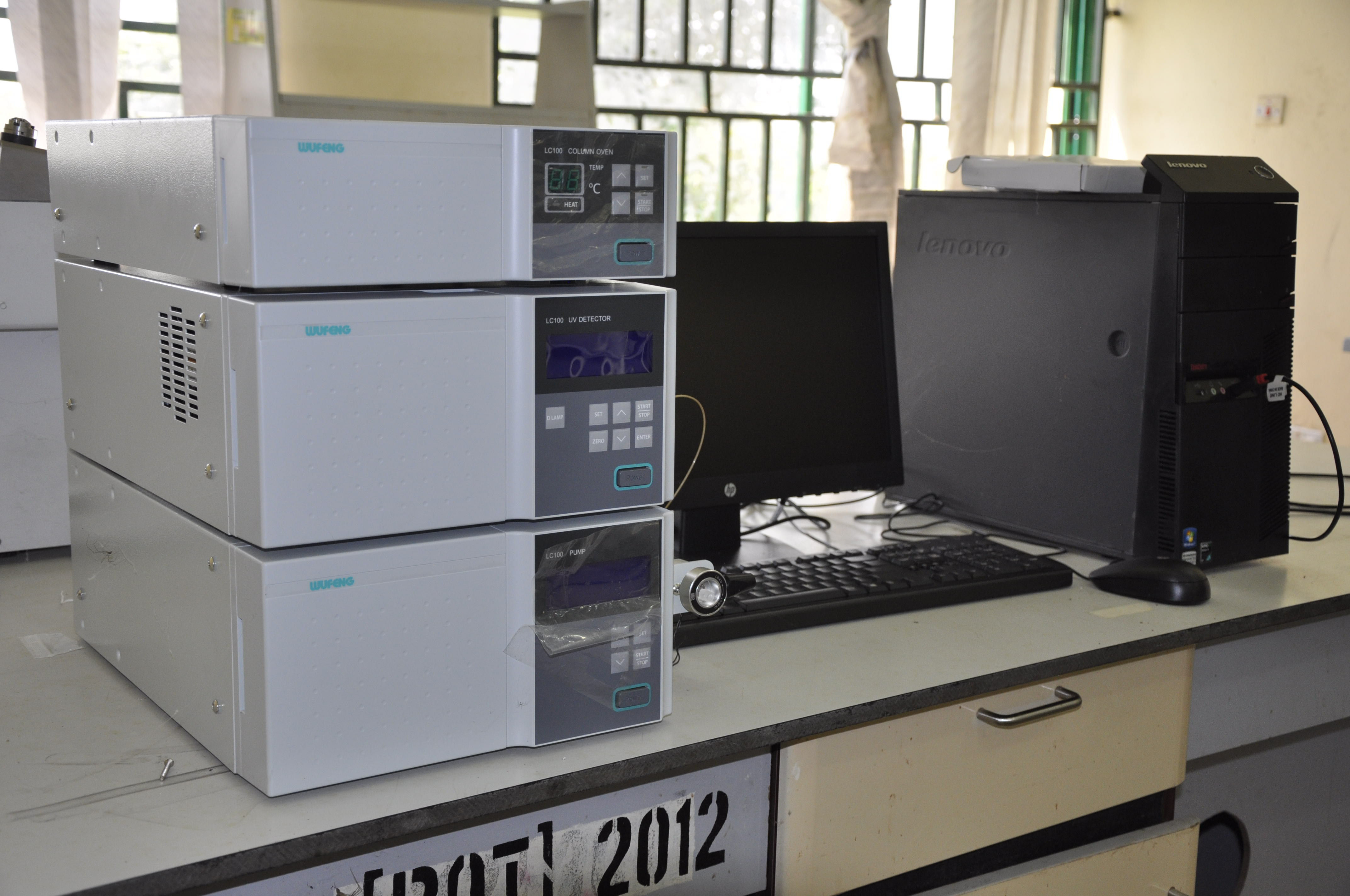 CASTER RECEIVES ADDITIONAL MULTI-MILLION NAIRA HIGH-TECH LABORATORY EQUIPMENT