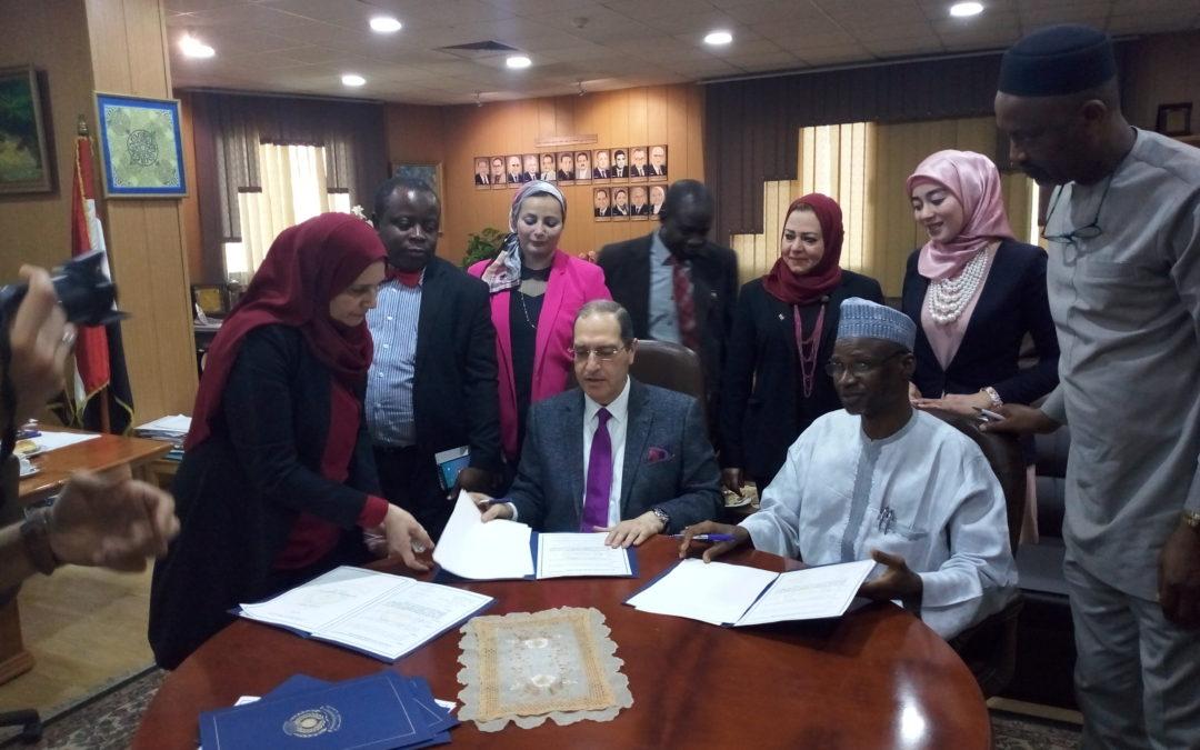 IBBU SIGNS MOU WITH EL MANSOURA UNIVERSITY EGYPT