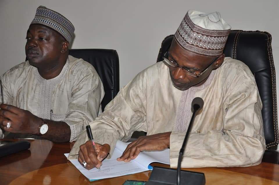 COLLEGE OF AGRICULTURE, MOKWA, SIGNS MoU WITH IBBUL