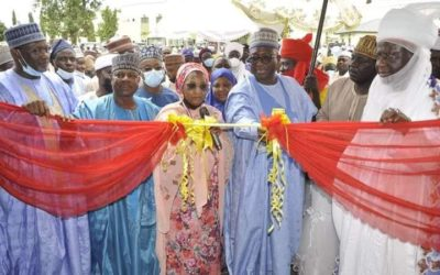 NNPC ENDOWED PROJECTS IN IBBUL COMMISSIONED