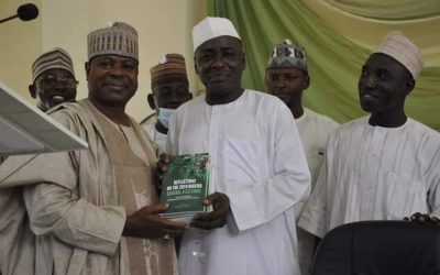 NIGER SSG, FORMER SPEAKER SUGGEST END TO BANDITRY AND INSECURITY